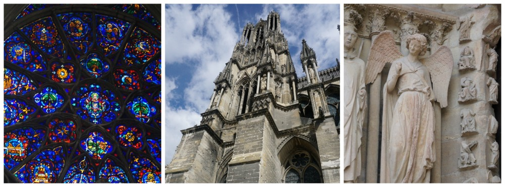 Reims Cathedral Collage