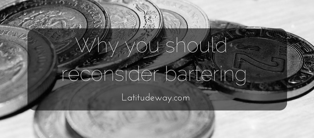 Why you should reconsider bartering