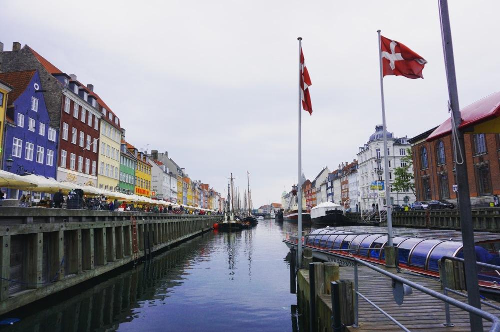 Copenhagen, Nyhavn area